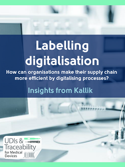 How can organisations make their supply chain more efficient by digitalising processes?
