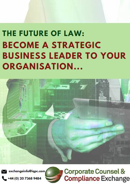 The Future of Law: Become a Business Leader for your Organisation