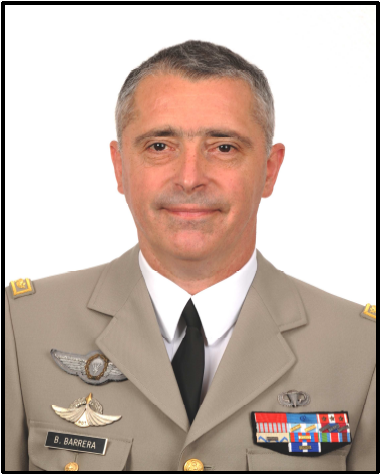 Major General Bernard  Barrera
