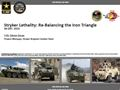 Stryker Lethality: Re-Balancing the Iron Triangle