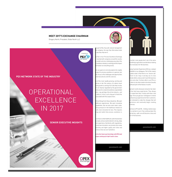 Operational Excellence in 2017