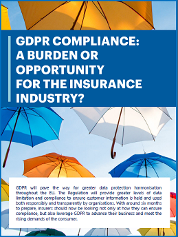 GDPR compliance: A burden or opportunity for the insurance industry?