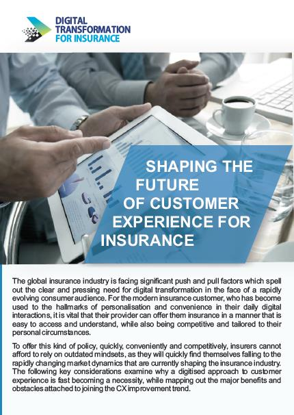 Shaping the Future of Customer Experience for Insurance