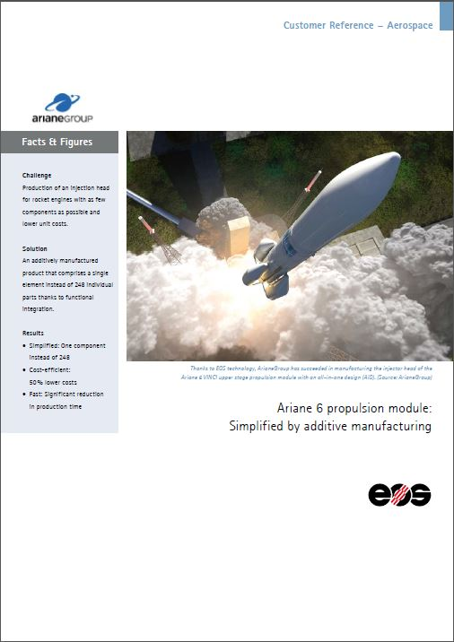 EOS Customer Reference – Aerospace - ArianeGroup