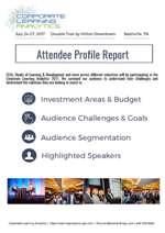 Attendee Investment Report