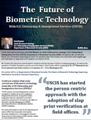 The Future of Biometric Technology: With U.S. Citizenship & Immigration Services (USCIS)