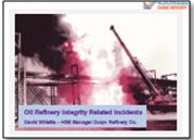 Oil Refinery Integrity Related Incidents