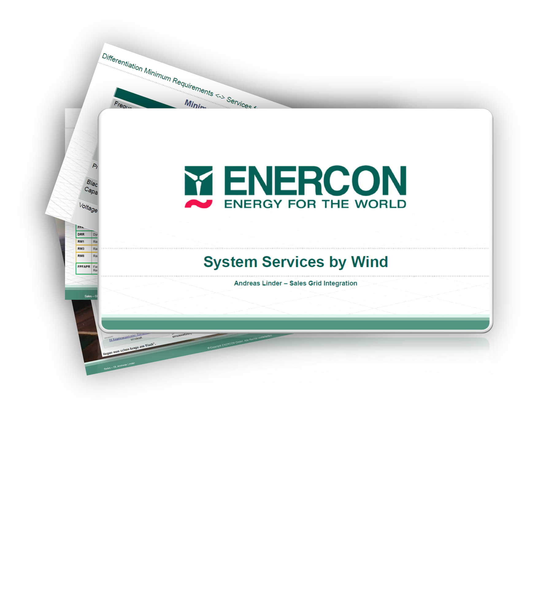 ENERCON - Energy System Change: Era of Feed-in Tariffs is coming to an end