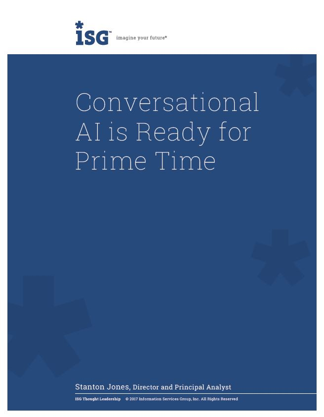 Conversational AI is Ready for Prime Time