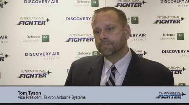 International Fighter: Tom Tyson, VP Textron Airborne Solutions