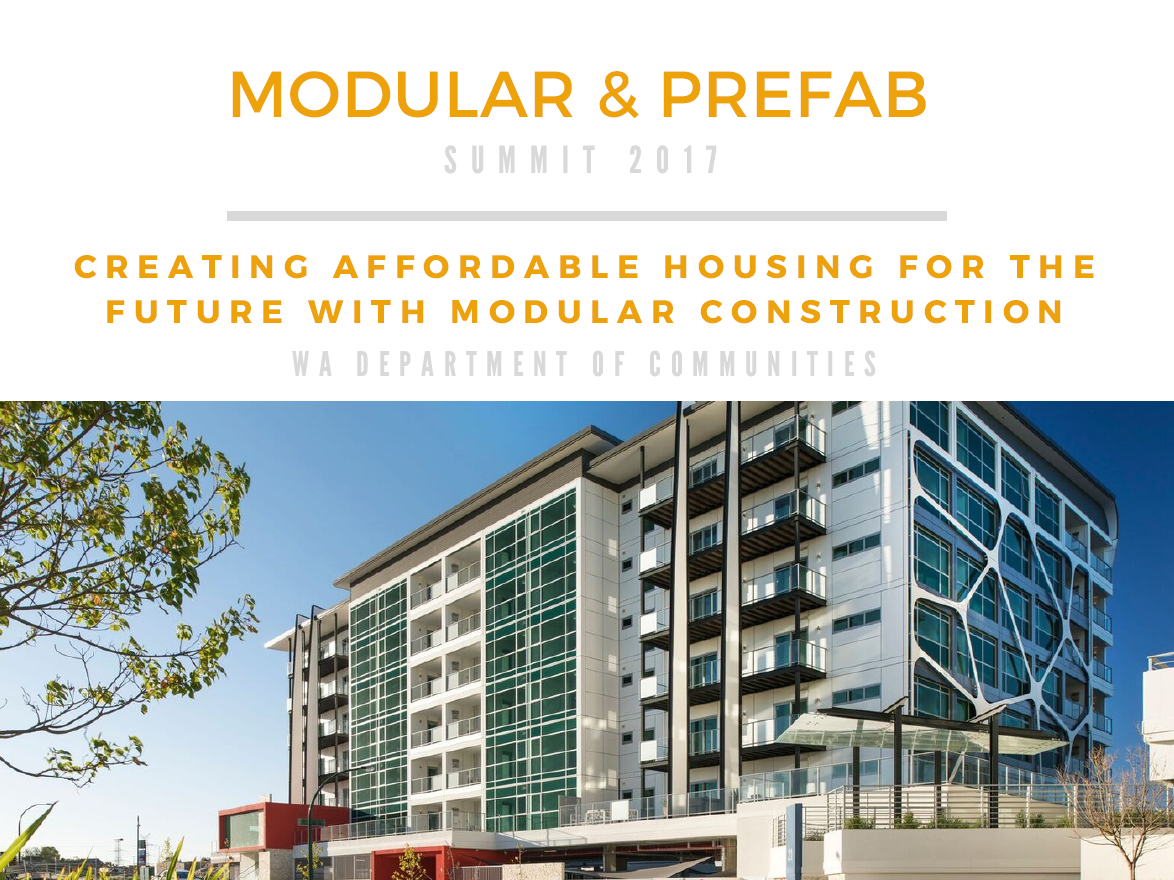 Creating Affordable Housing for the Future with Modular Construction