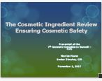 Substances Used in Consumer Products: The Challenge of Ensuring Safe Ingredients