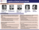Logistics at Global Forum Canada