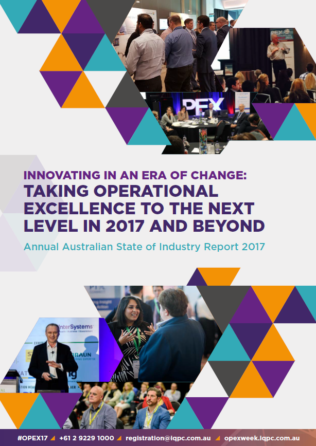 Innovating in an era of change: taking operational excellence to the next level in 2017 and beyond
