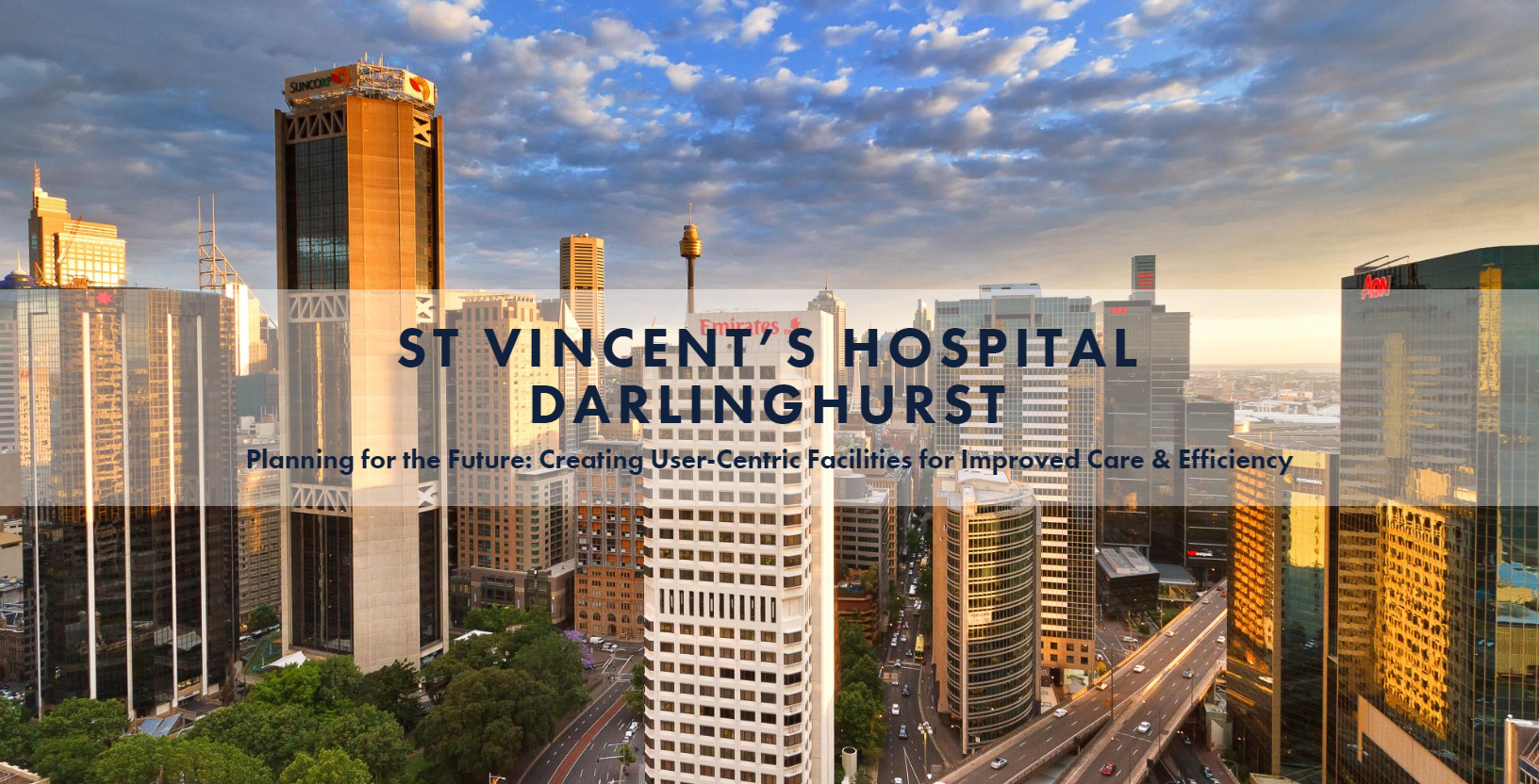 St Vincent's Healthcare: Creating User-Centric Facilities for Improved Care & Efficiency