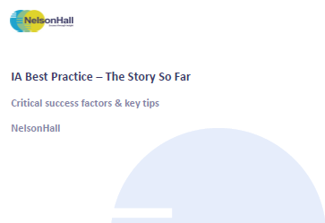 IA Best Practice – The Story So Far