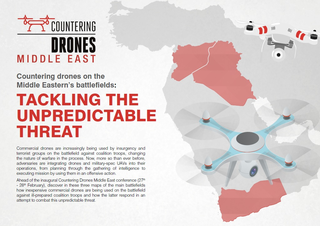 Countering drones on the Middle Eastern's battlefields: Tackling the unpredictable threat