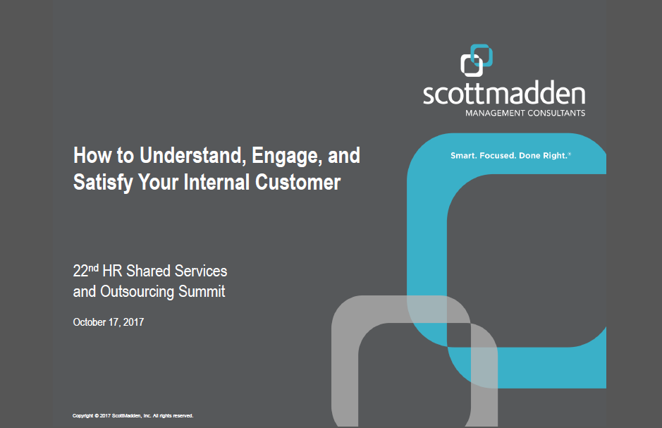 How to Understand, Engage, and Satisfy Your Internal Customer, Scott Madden