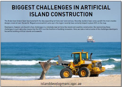 Challenges in Artificial Island Construction