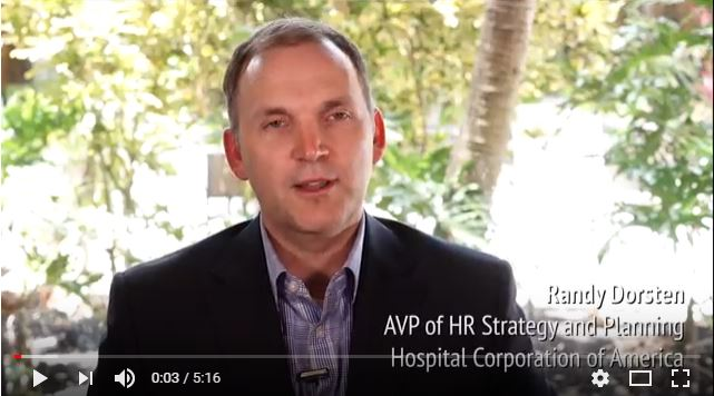 Transforming HR: An Interview with Randy Dorsten, HCA's AVP of HR Strategy