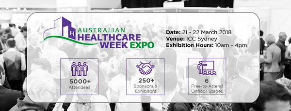 Australian Healthcare Week 2019 Sneak Peek