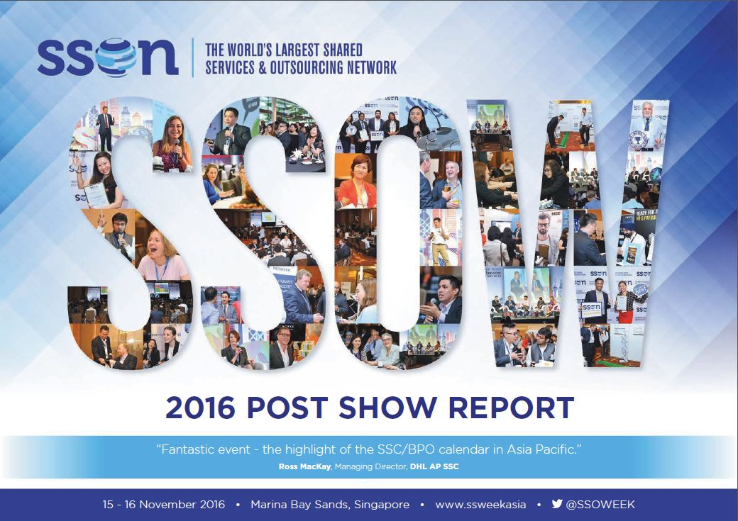 19th Annual Asian Shared Services & Outsourcing Week Post-show Report