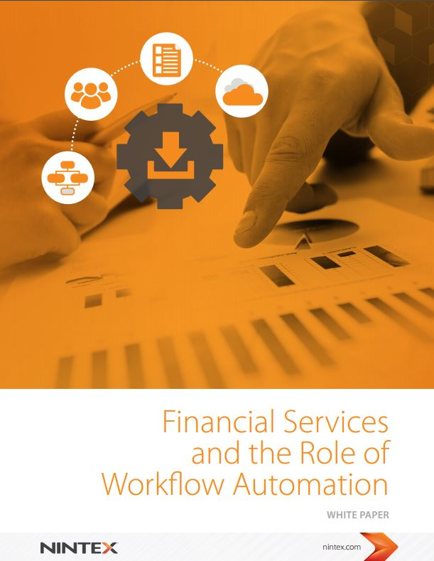 Financial Services and the Role of Workflow Automation