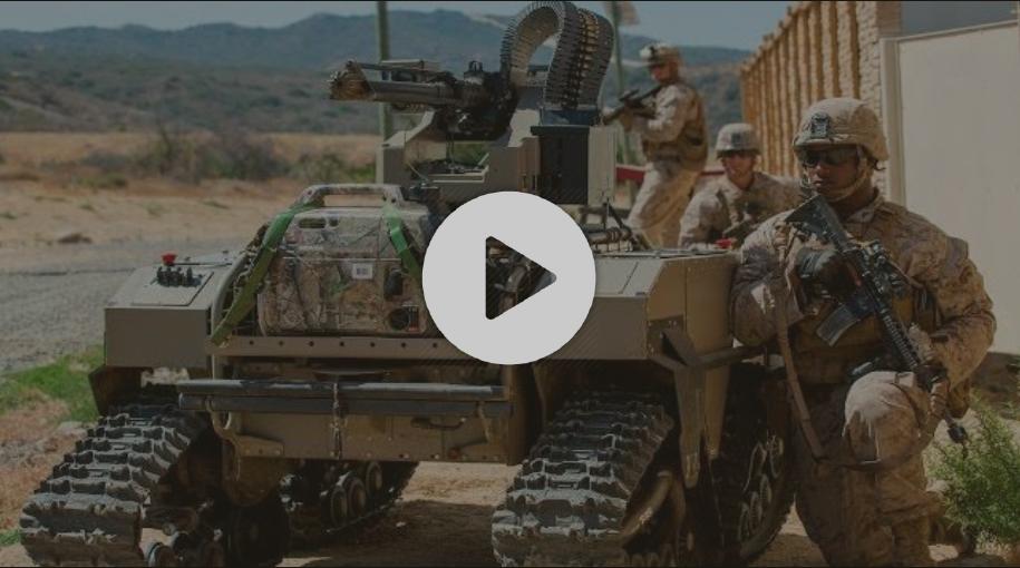 US Future Combat Systems - Marines Test Futuristic Combat Robots