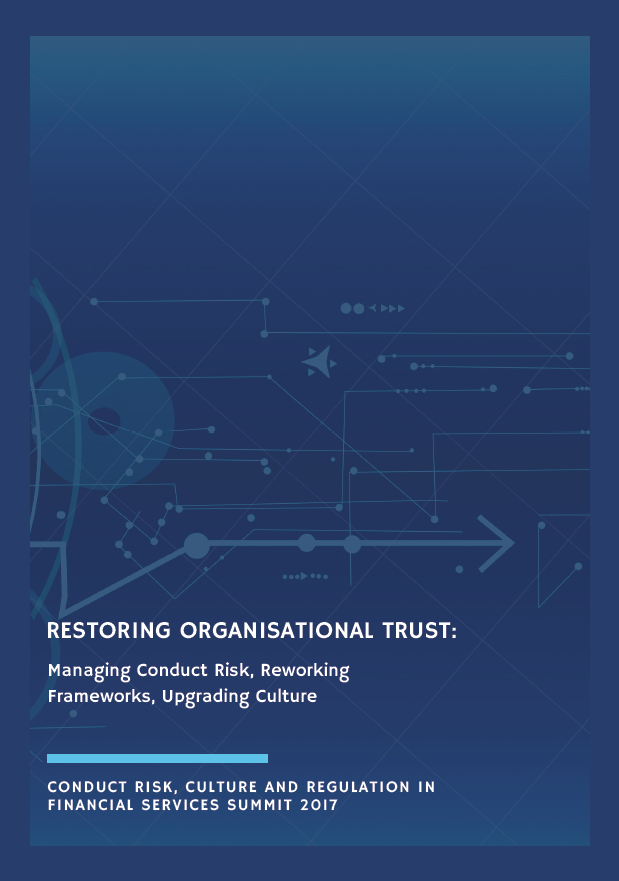 Managing Conduct Risk: Reworking Regulation & Culture