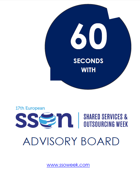 60 seconds with the Advisory Board | Shared Services and Outsourcing Week