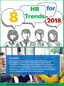 8 HR Trends for 2018