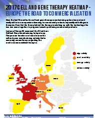 2017 Cell and Gene Therapy Heatmap - Europe The Road To Commercialisation