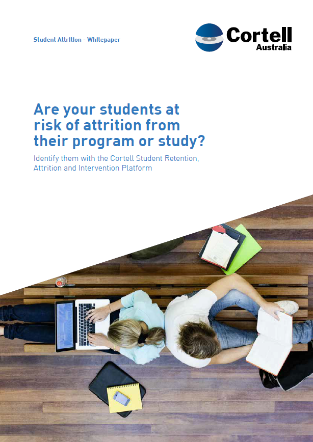 Are your students at risk of attrition from their program or study?