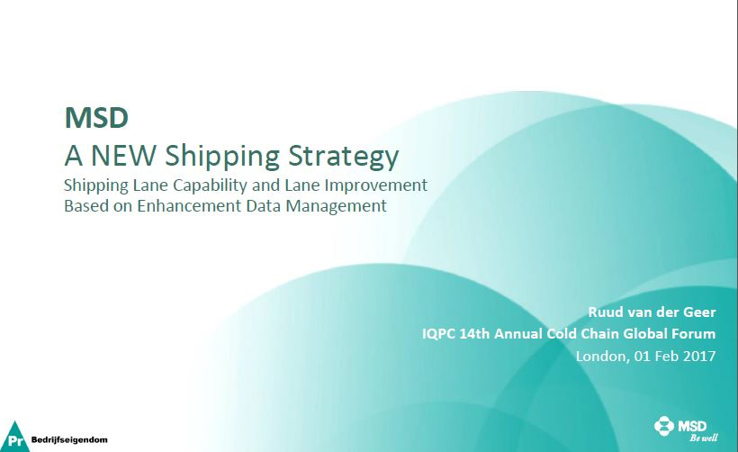 Ruud van der Geer presents: Shipping Lane Capability and Lane Improvement Based on Enhancement Data Management