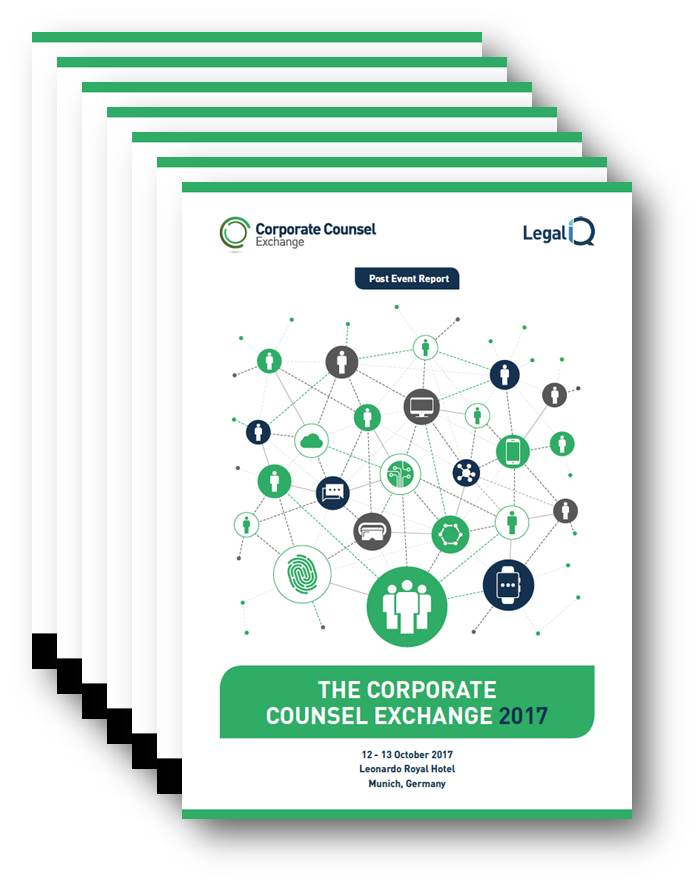 2017 Corporate Counsel and Compliance Exchange October Post-Event Report