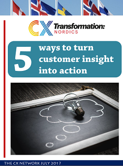 5 ways to turn customer insight into action