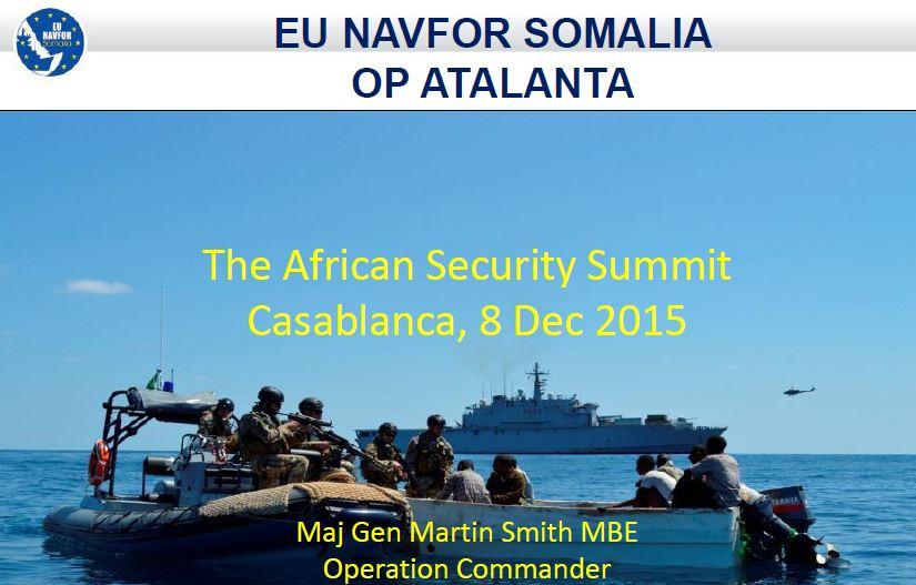 AFSEC 2015 presentation - Maj Gen Martin Smith MBE Operation Commander