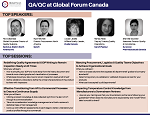 QA/QC at Global Forum Canada