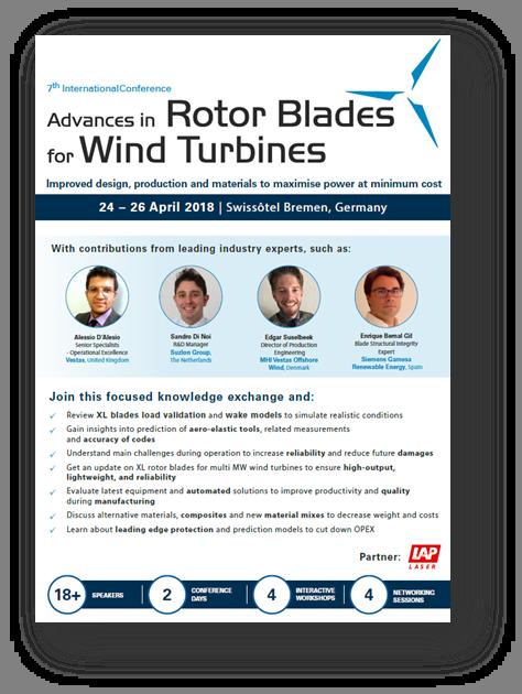 Agenda on Rotor Blades 2018