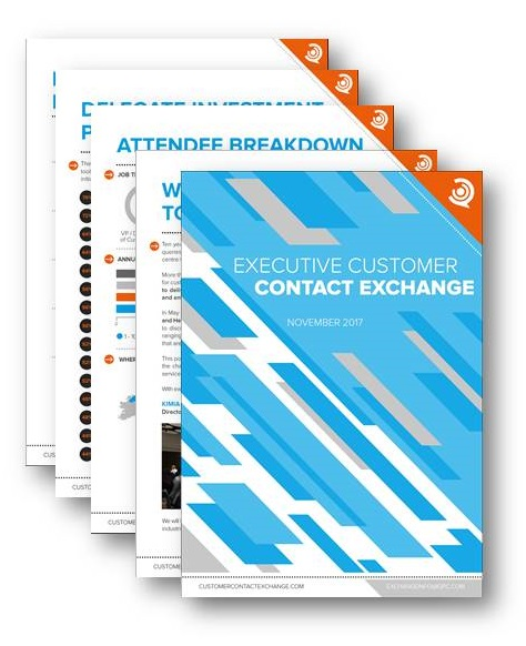 Executive Customer Contact Exchange BFSI Post Event Report