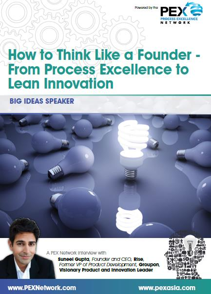 How to Think Like a Founder - From Process Excellence to Lean Innovation