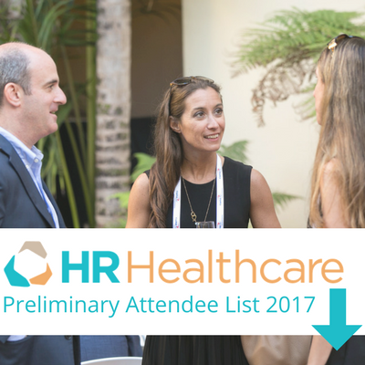 HR Healthcare 2017 Preliminary Attendee List