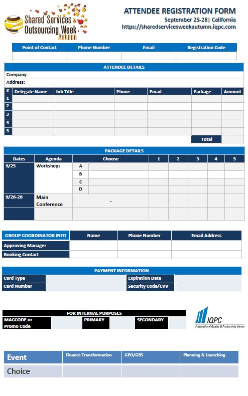 Fill Out Your Form to Attend