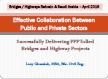 Effective Collaboration between Public and Private Sectors