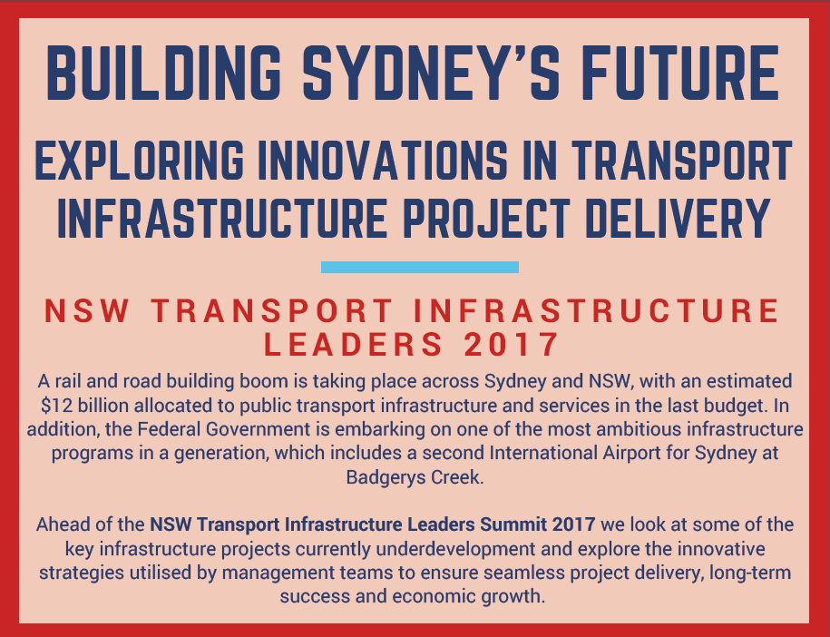 Exploring Innovations in Transport Infrastructure Project Delivery