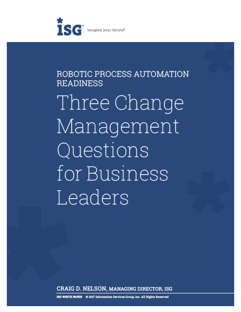 Three Change Management Questions for Business Leaders