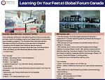 Learning On Your Feet at Global Forum Canada