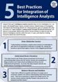 5 Best Practices for Integration of Intelligence Analysts