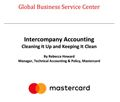 Intercompany Accounting: Cleaning It Up & Keeping It Clean