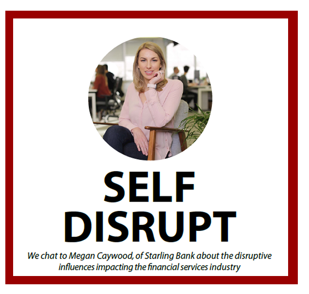 Self Disruption: An interview with Megan Caywood